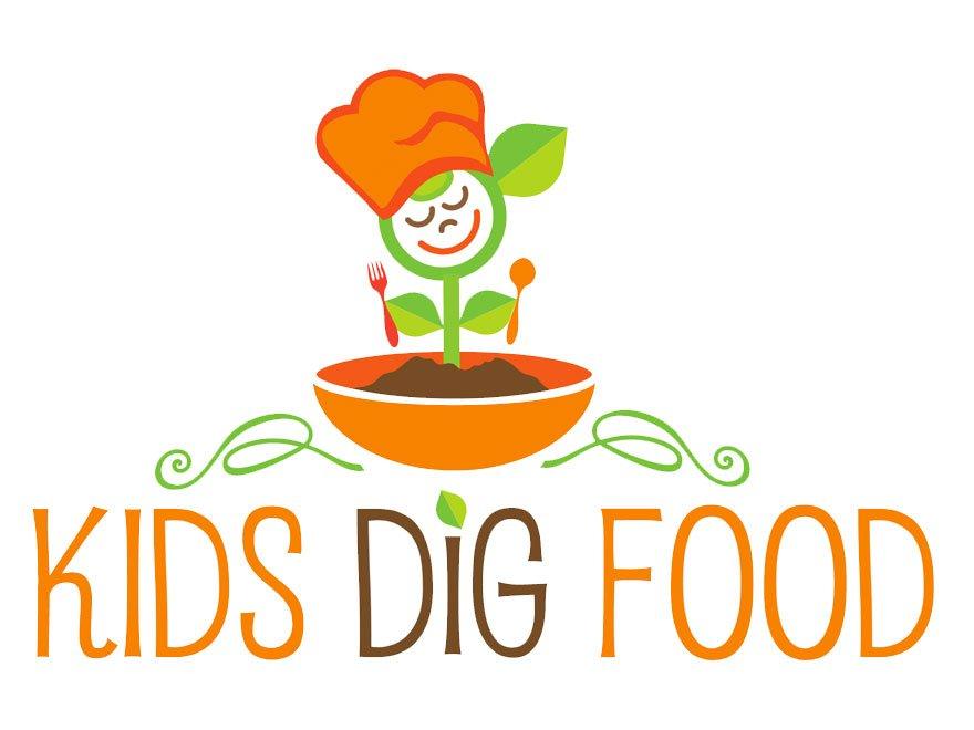 Kids Dig Food logo