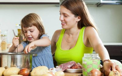 Food skills our kids are missing out on