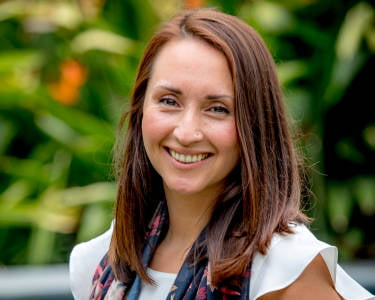 Inés Astudillo, Accredited Practising Dietitian with Kids Dig Food